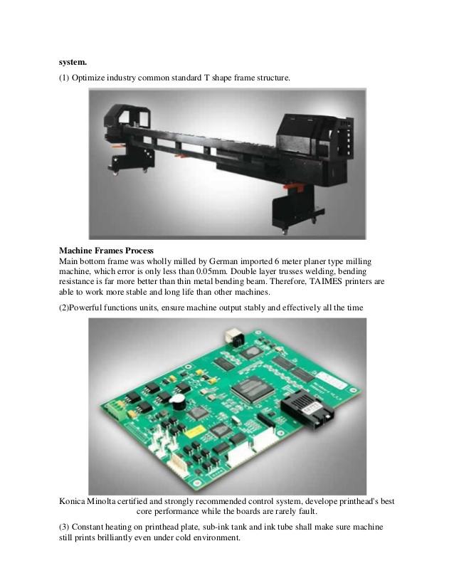 Taimes đã nghiên cứu và phát triển hệ thống điều khiển điện và cơ khí như: